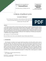 A Theory of Political Cycles Leonardo Martinez 2008