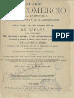 Anuario del comercio, de la industria, de la magistratura y de la administración de la provincia de León.
