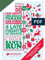 Fal Christmas A5 Flyer