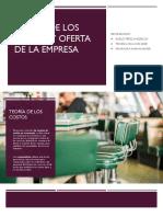 expo n°11-Teoría de los costos y oferta de la empresa