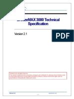 BreezeMAX 3000 TechSpec
