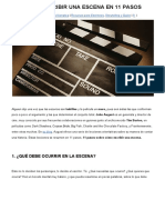 Como Escribir Una Escena en 11 Pasos