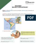 Resumen de Los Mayas y Aztecas