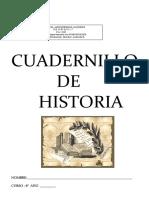 Cuadernillo de Refuerzo Historia