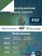 Analisis Publicidad Electoral AAP19