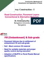 4.1Highway Construction I Dr.krishnamurthy