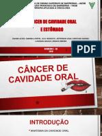 CA de Cavidade Oral e Estomago 2