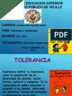 Tolerancia y Solidaridad