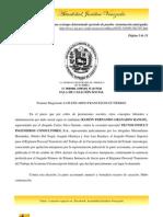 Tsj Contrato a tiempo determinado (periodo de prueba - terminación anticipada)