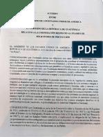 Acuerdo tercer país seguro entre EEUU y Guatemala
