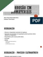 Corrosão Em Biomateriais Correto