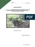 2. Estudio Hidrologico Quebrada Sitan