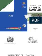 Instructivo Carpeta Familiar Publicacion N 292