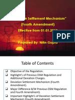 Presentation on DSM Regulation (Fourth Amendment)