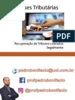 Pedro Bonifacio - Teses Tributárias