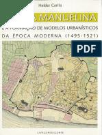 Lisboa Manuelina e a Formacao de Modelos