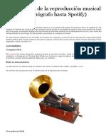 1 La evolución de la reproducción musical (desde el Fonógrafo hasta Spotify).pdf