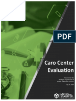 Caro Center Evaluation