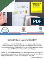 Formulación de Proyectos y Planeación Estratégica