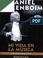 Barenboim, D. -Mi Vida en La Música