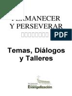 Permanecer y Perseverar. Temas Dialogos45