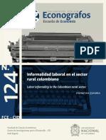 Informalidad en el sector rural colombiano