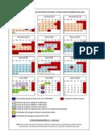 Calendario Fyl 2019-2020