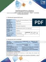 Guía de Actividades y Rúbrica de Evaluación - Fase 5 - Actividad de Retroalimentación
