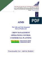 AIMS Modules