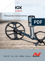 Manual EQUINOX 800 ESPAÑOL