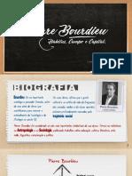 Apresentação Sociologia (Pierre Bourdieu