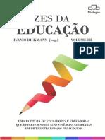 eBook Vozes Da Educação Volume III