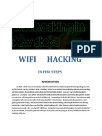 Wifi Hacking in Few Steps