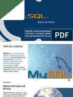 Presentación MySQL