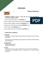 PORTUGUÊS - ANOTAÇÕES
