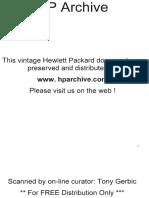 HP 427A Manual
