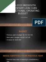 wissman- 2019-2020 midsouth elementary instructional operating budget