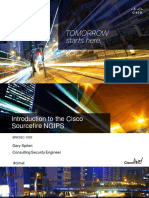 BRKSEC-1030 Introduction to the Cisco Sourcefire NGIPS