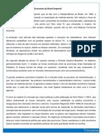 Economia No Brasil Imperial