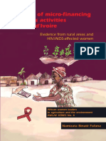 (Awlae) Namizata Binate Fofana - Efficacy of Micro-Financing Women's Activities in Cote d'Ivoire_ Evidence From Rural Areas and HIV_AIDS-Affected Women-Wageningen Academic Publishers (2010)