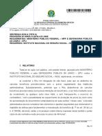 Sentença INSS OBRIGAÇÃO DE FAZER - Ação Civil Publica