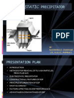 Electrostatic Precipitator Ppt by Ravindra 2003