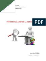 Conceptualizacion de La Metodologia de La Investigacion (2) (1)
