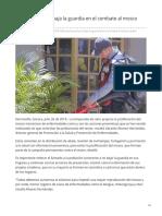 26-07-2019 Salud Sonora no baja la guardia en el combate al mosco Aedes Aegypti - Proyecto Puente