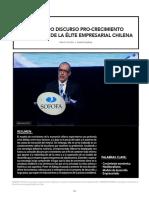 · 34 ·EL TULLIDO DISCURSO PRO-CRECIMIENTO ECONÓMICO DE LA ÉLITE EMPRESARIAL CHILENA