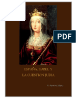 Saenz Ramiro - España, Isabel y La Cuestion Judia