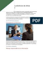 9 Ejemplos Prácticos de Ética Profesional