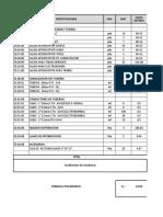 formula polinomica para IE