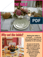 46 Setting the Table