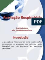 Avaliação Respiratória